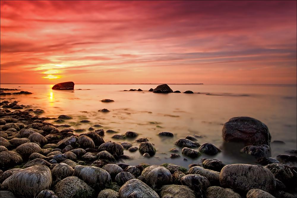 sunkissed stones