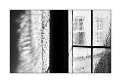 Sunlight is broken in the Fensterscheibe #1