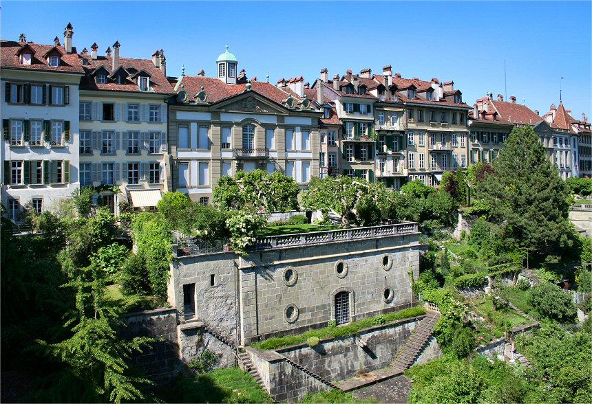 Sunny day in Bern