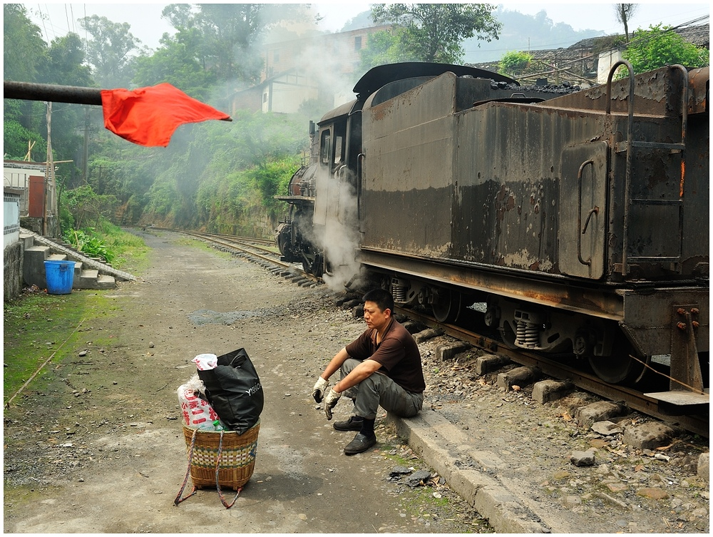 Sunny Shibanxi 2012 - Das Warten...