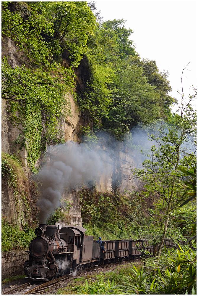 Sunny Shibanxi XXVII - Bergfahrt hinter Mifengyan