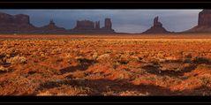 Sunrice im Monument Valley