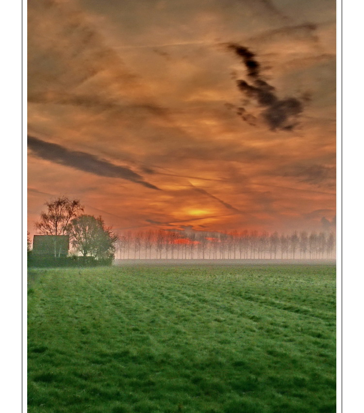 Sunrise (05.04.07 at 6:16) Zeeuws-Vlaanderen