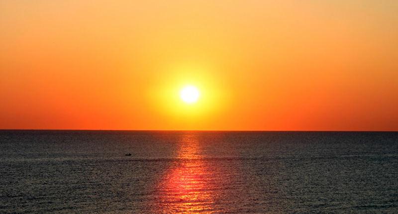 Sunrise 21 June
