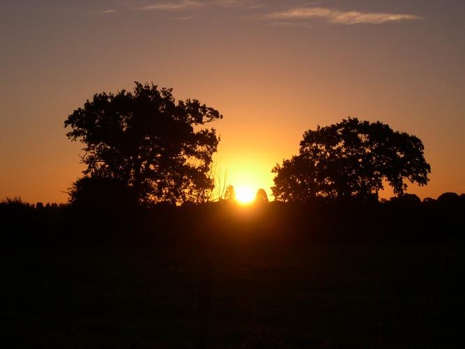 Sunrise + 5 minutes