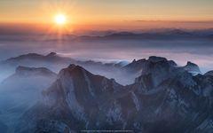 Sunrise Alpstein
