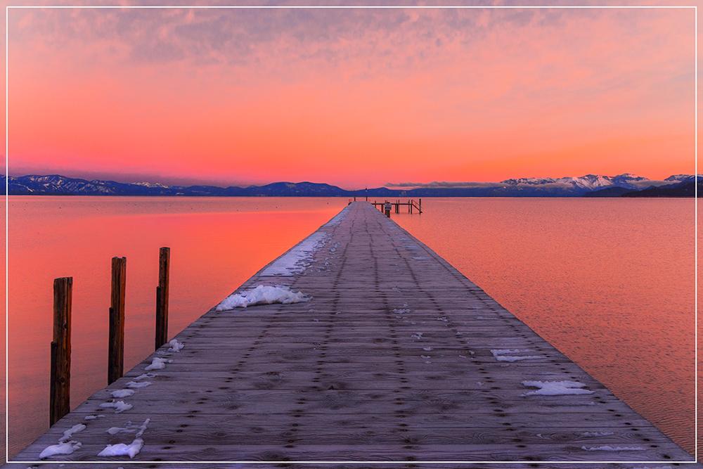 Sunrise am Lake Tahoe