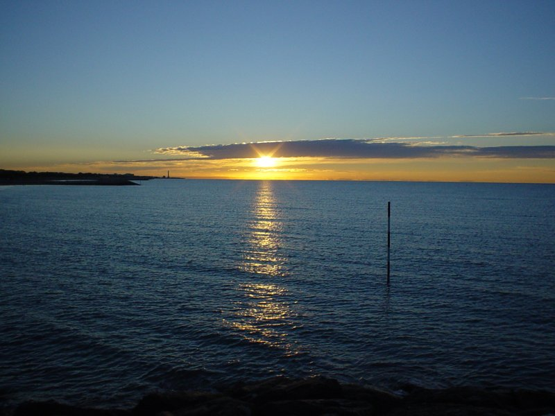 Sunrise at Adriatic Sea