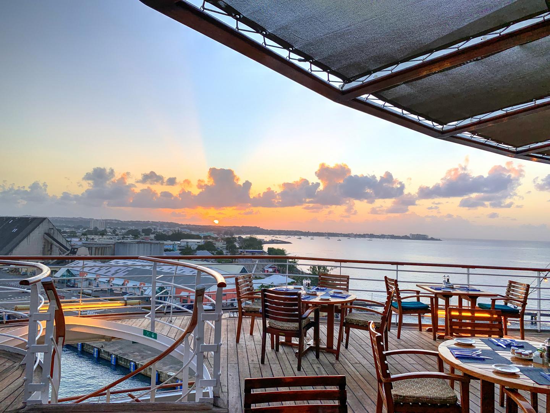 Sunrise at Bridgetown