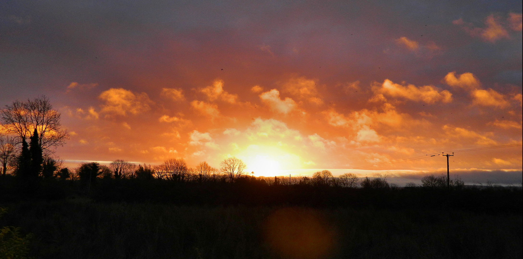 sunrise at cloonculane