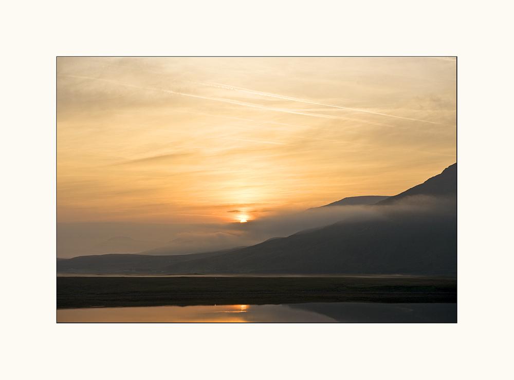 Sunrise at Dooghill Mulranny.