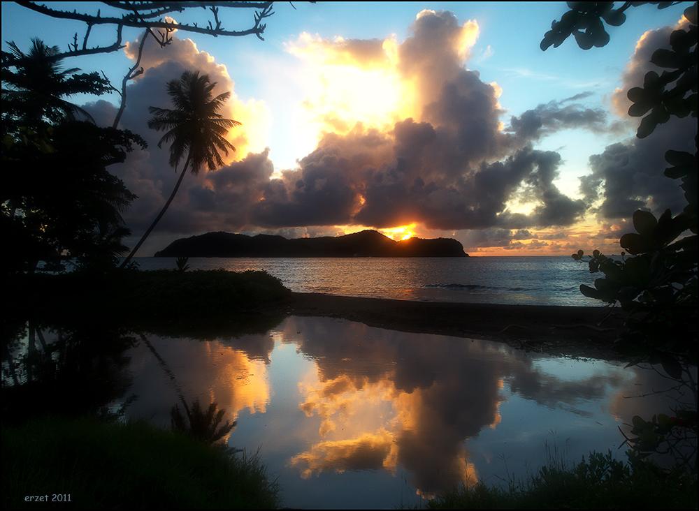 Sunrise at Little Tobago