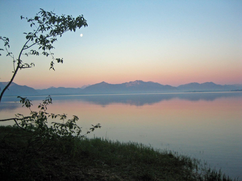 Sunrise at Seebruck, Chiemsee
