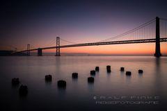 ~ Sunrise at the Oakland Bay Bridge ~