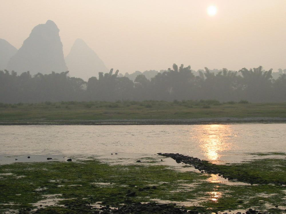 Sunrise at Yulong River