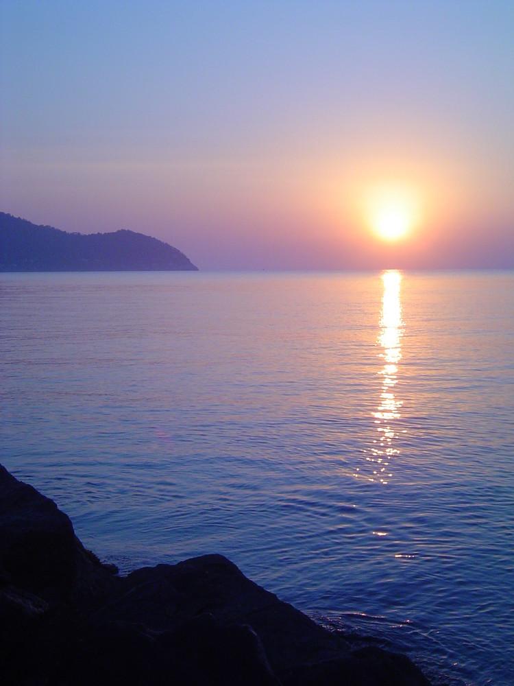 Sunrise. Cala Bona, Mallorca.
