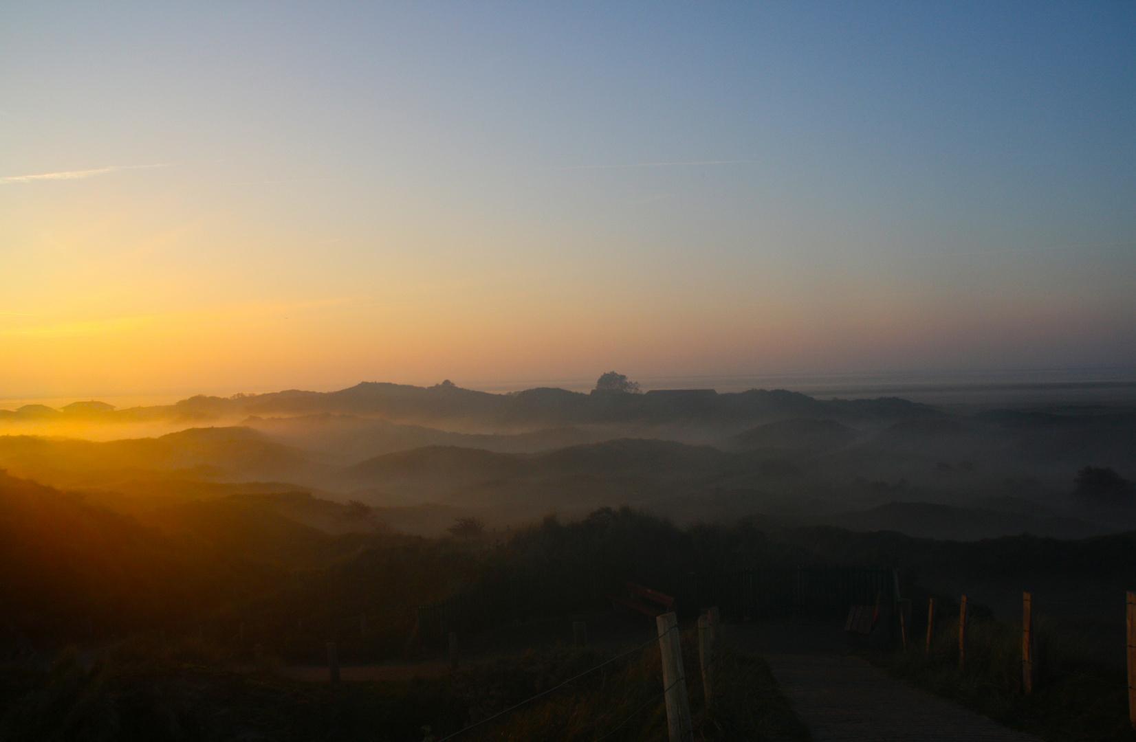 sunrise & dunes