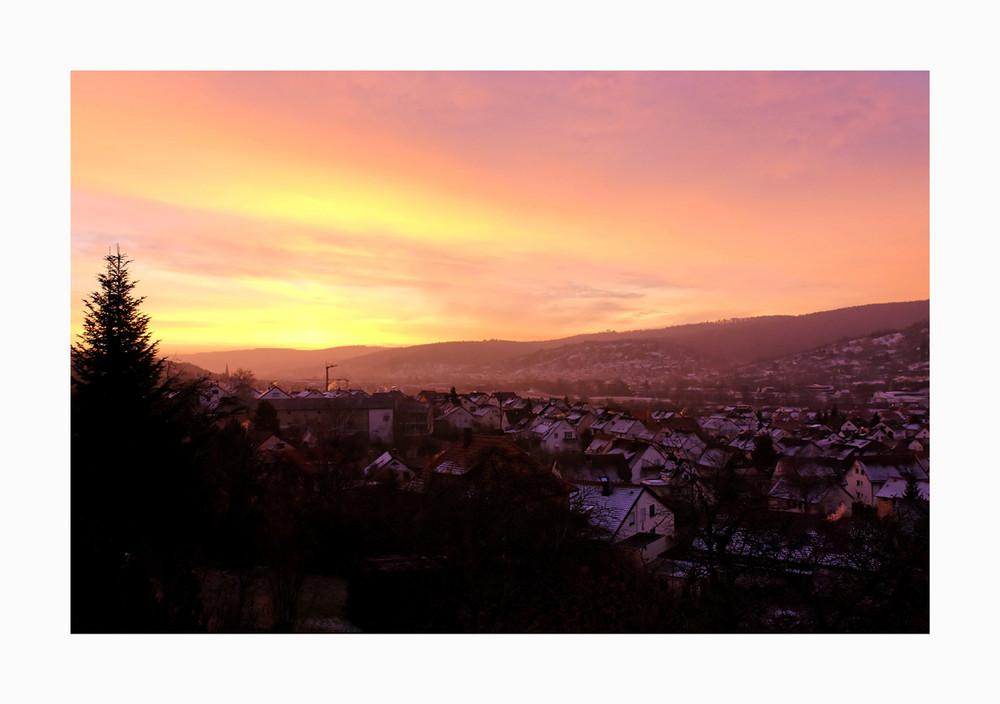 ... sunrise ...