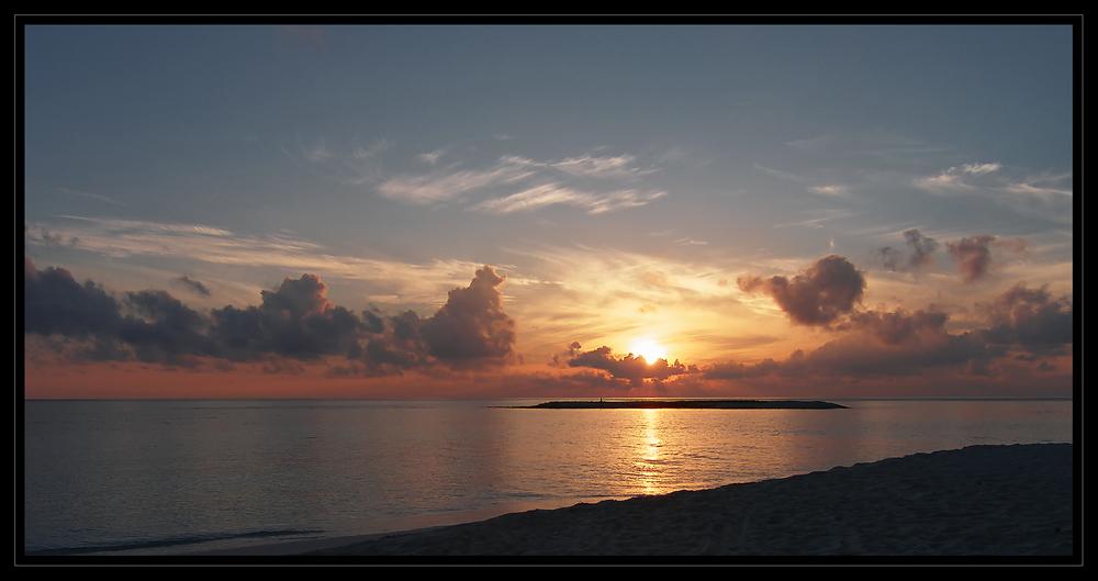 Sunrise im Paradies