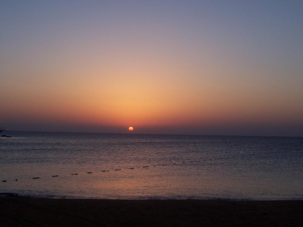 Sunrise in Ägypten