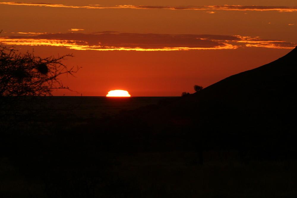 Sunrise in Africa