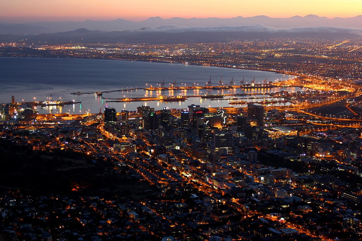 Sunrise in Capetown