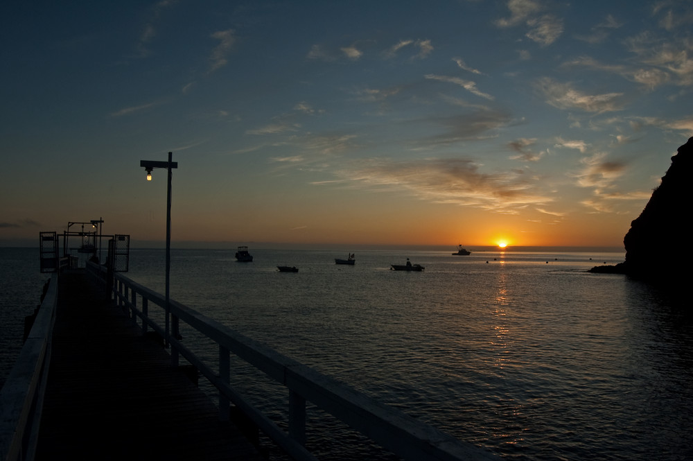 Sunrise in Catalina Island