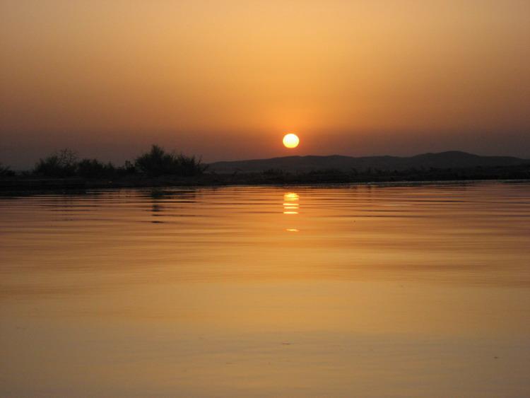 Sunrise in desert 1