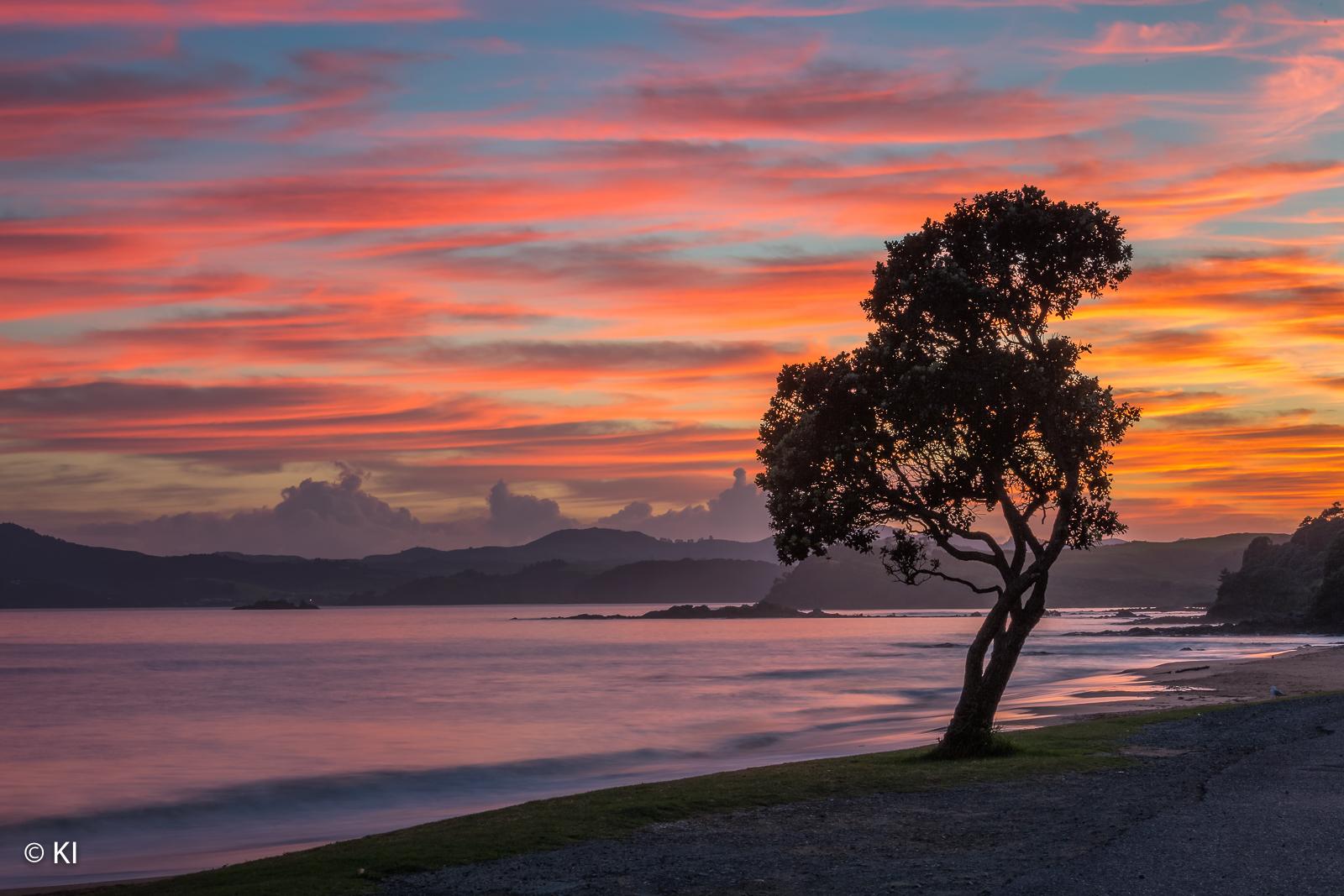 Sunrise in Doubtless Bay