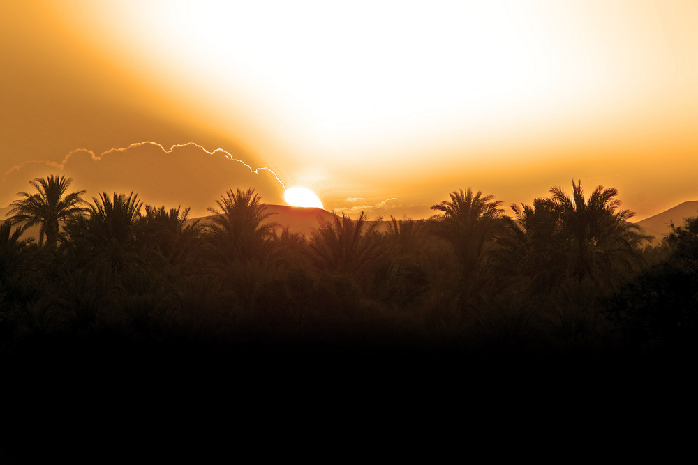 Sunrise in erg chebbi