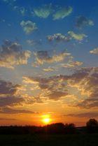 Sunrise in Ladeburg