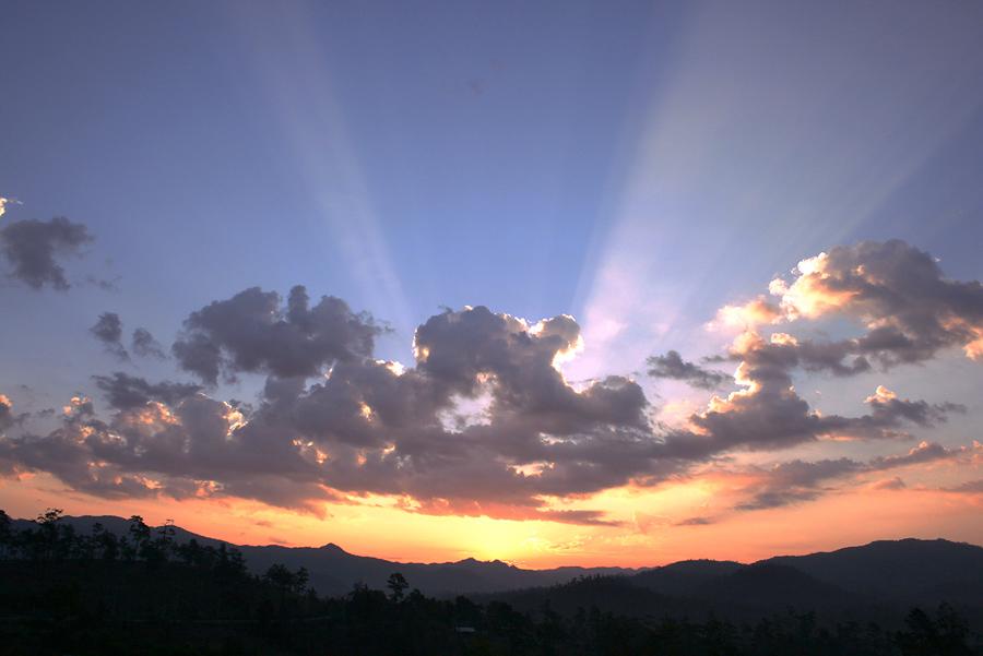 Sunrise in Mae Hong Sorn