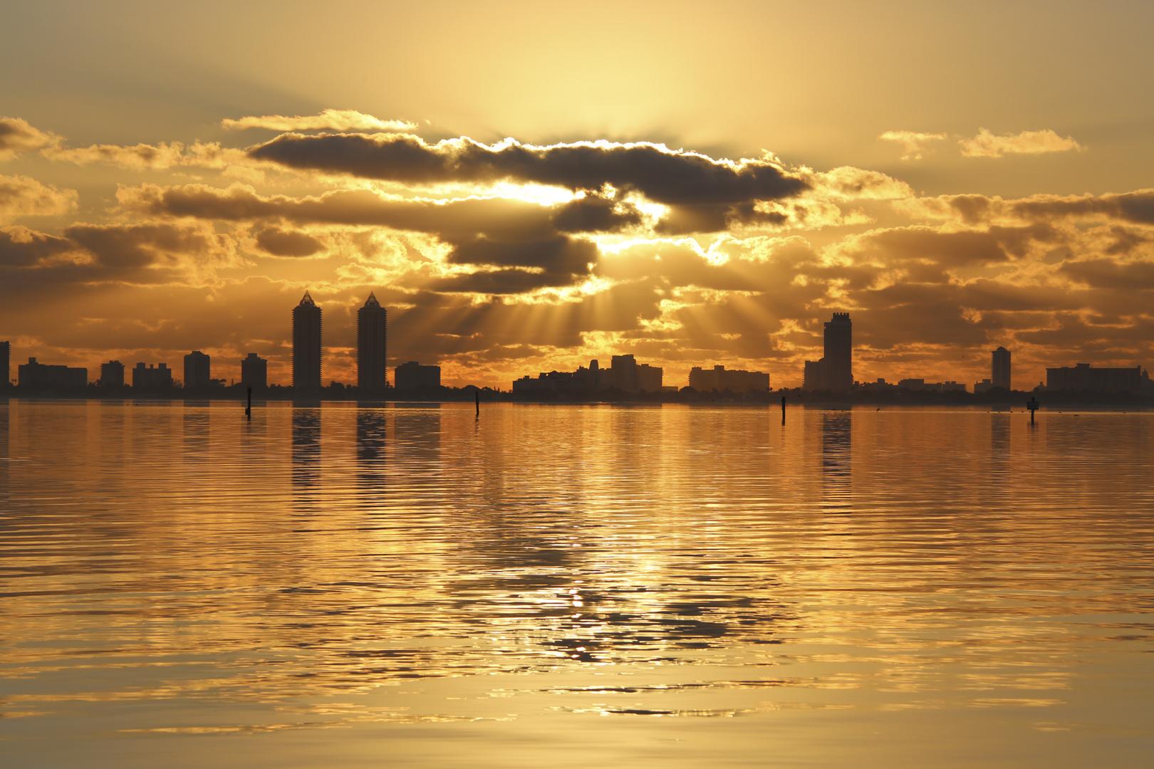Sunrise in Magic City