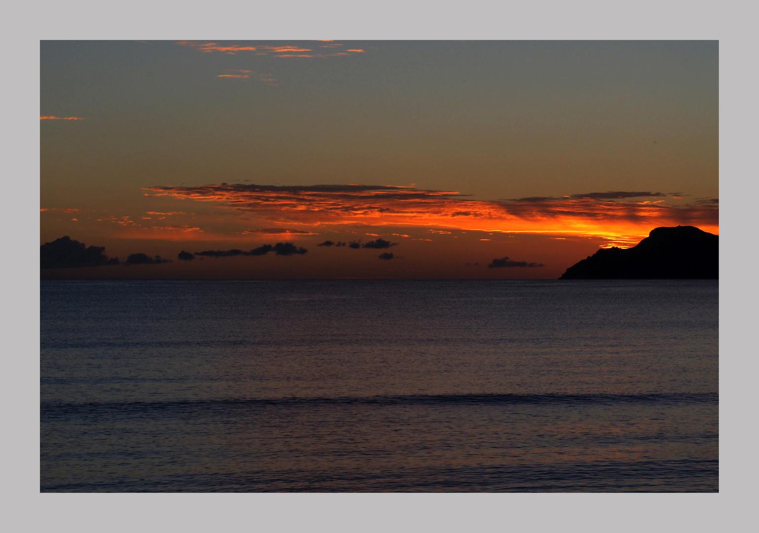 Sunrise in Muro Playa Alcudiabucht