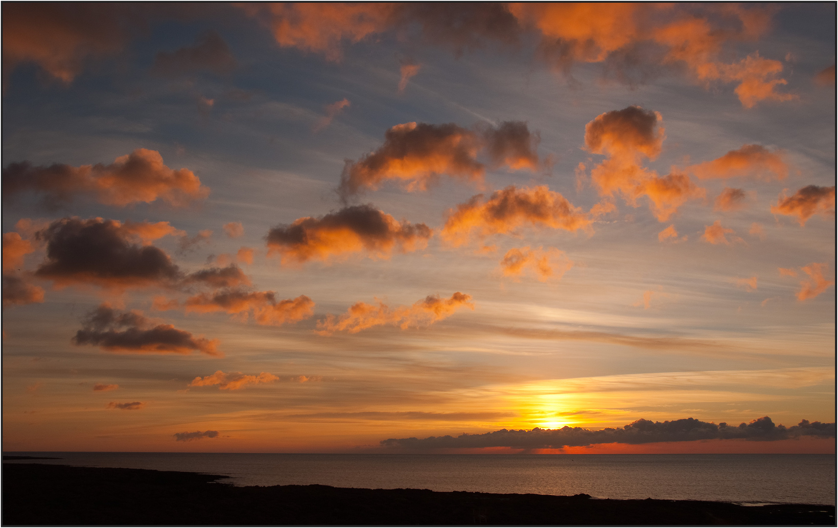 Sunrise in Punta Mujeres