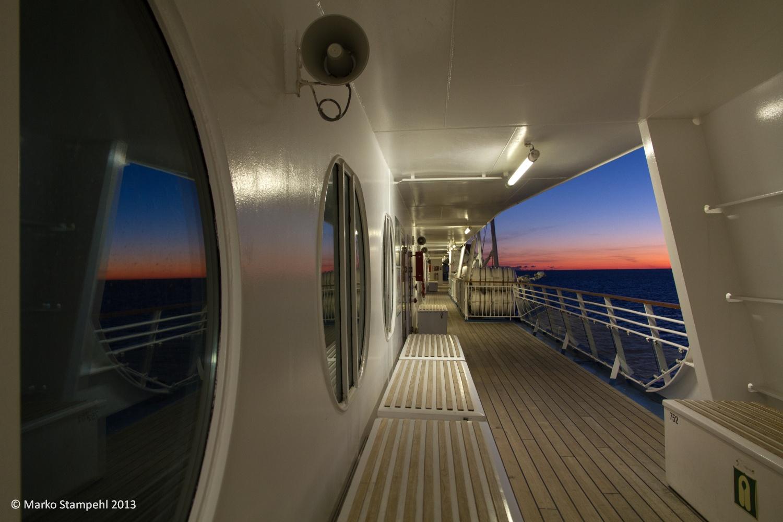 Sunrise in the Gulf of Finland