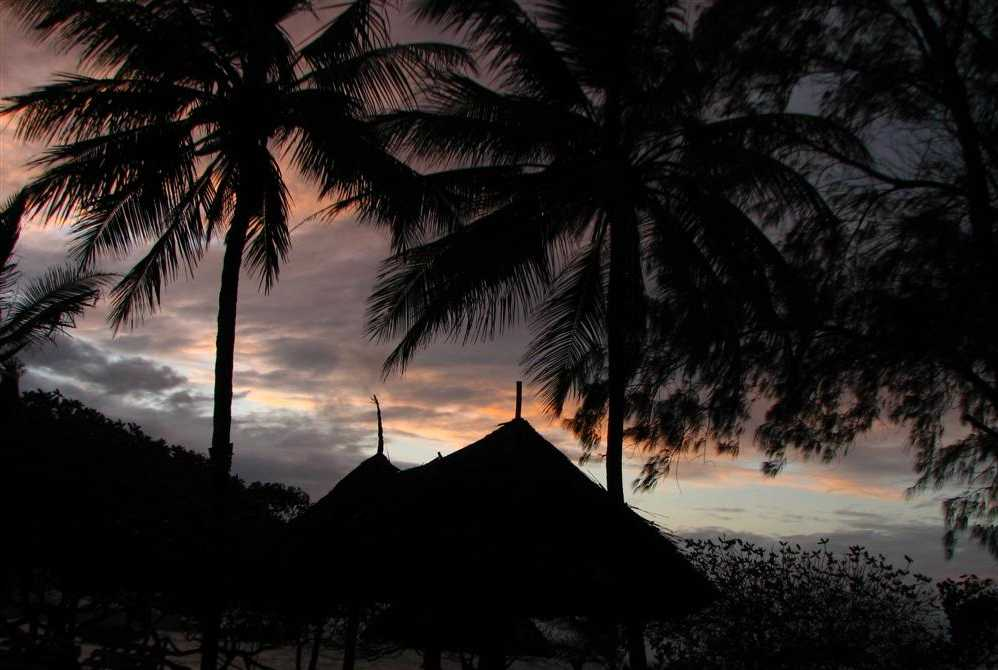 Sunrise in Watamu - Kenya