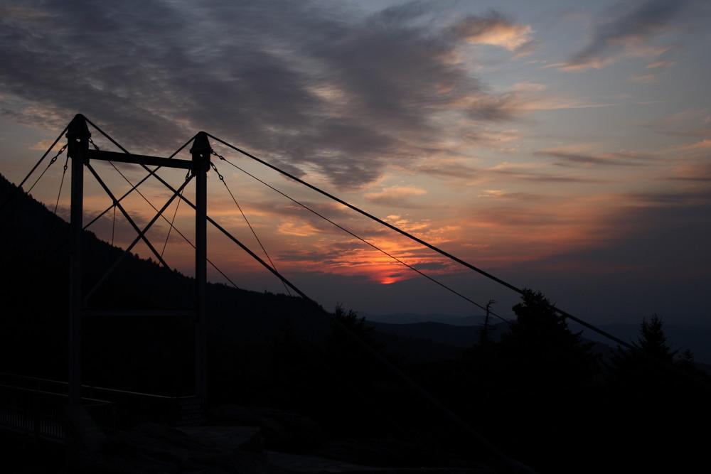 Sunrise on Grandfather Mountain