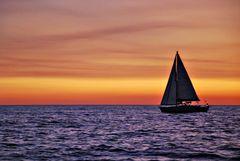 Sunrise on Sea