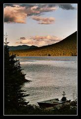 Sunrise on Trimble Lake