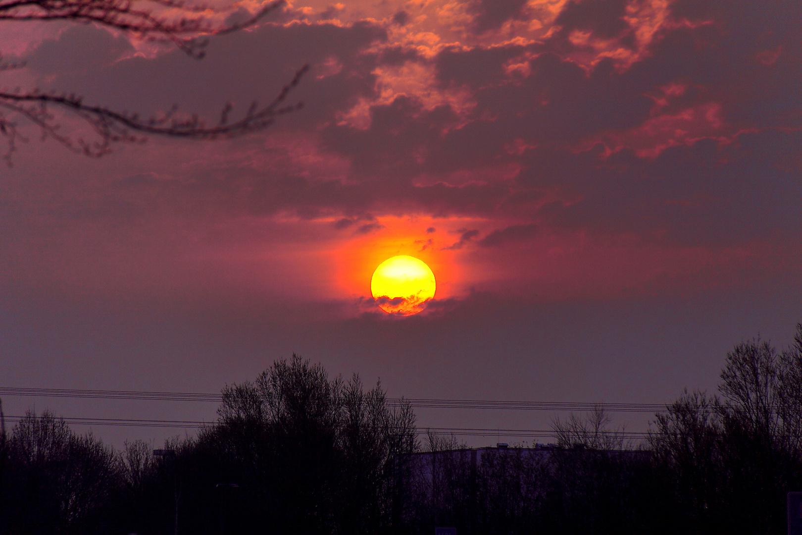 Sunrise out of Landshut