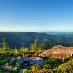 Sunrise over Black Forest