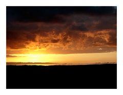 Sunrise over GC