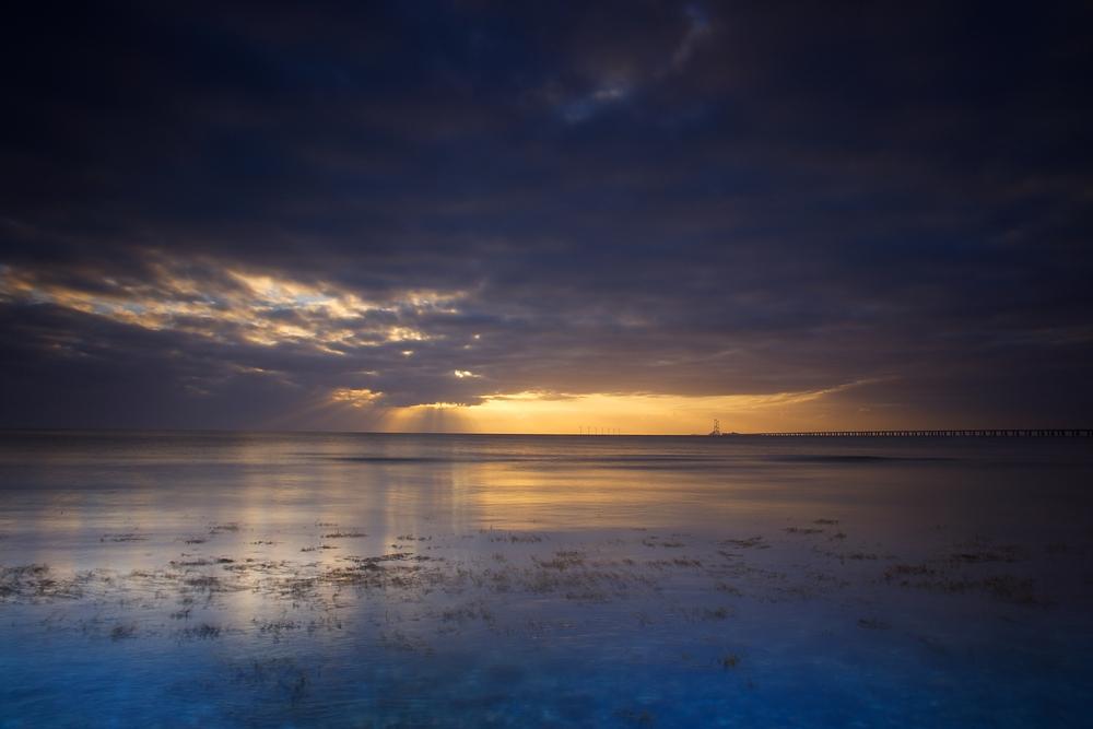 Sunrise over Sjælland
