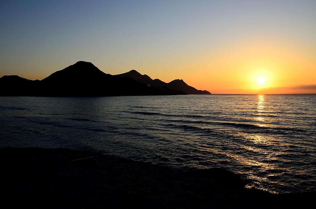 Sunrise, Sonnenaufgang am Mittelmeer, Amanecer (Mediterráneo)