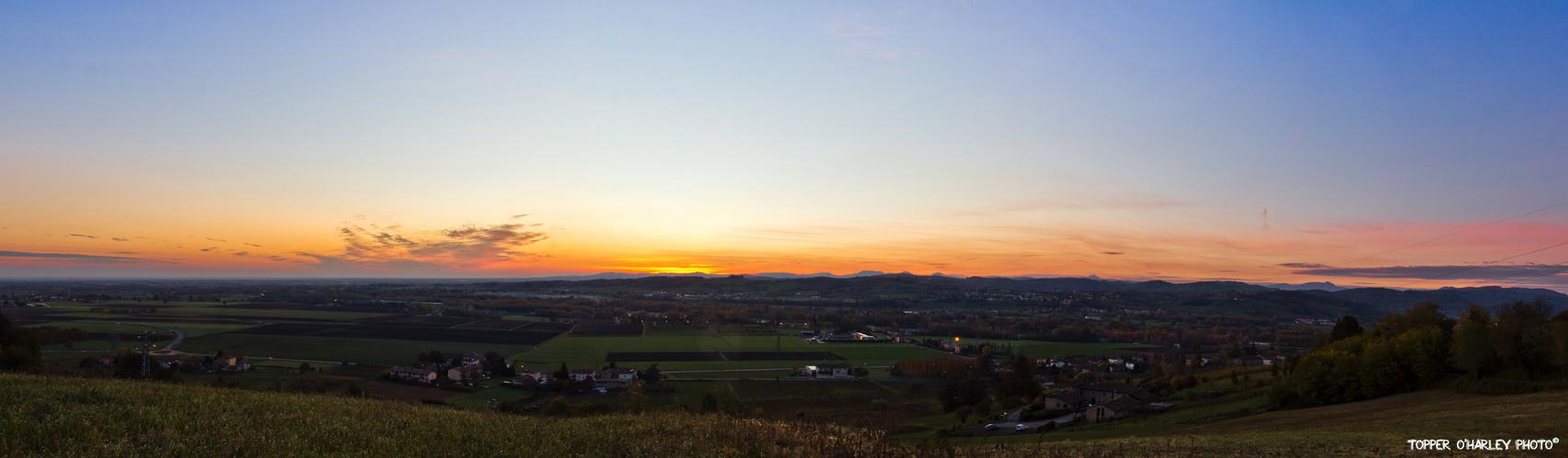 Sunrise - Torrechiara