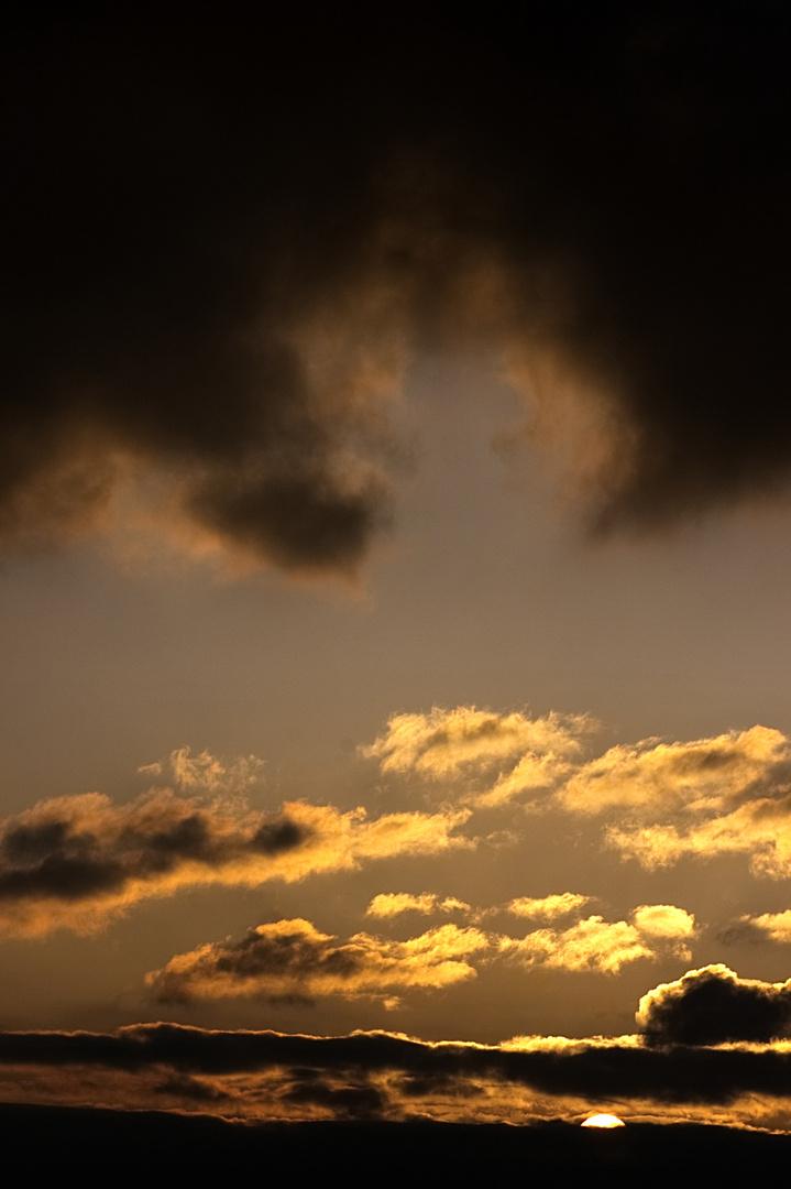 Sunset about Hann. Münden
