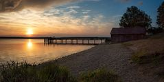 Sunset am Ammersee