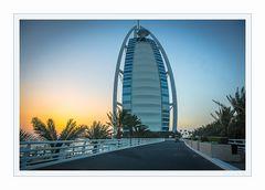 "Sunset am ""Burj Al Arab"""