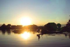 Sunset am Inle- Lake